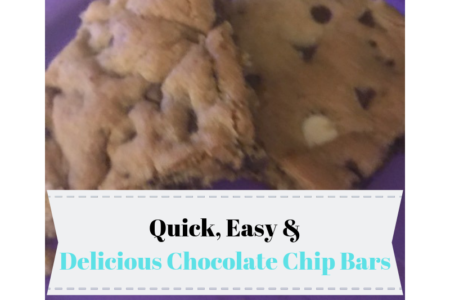 Delicious Chocolate Chip Bars