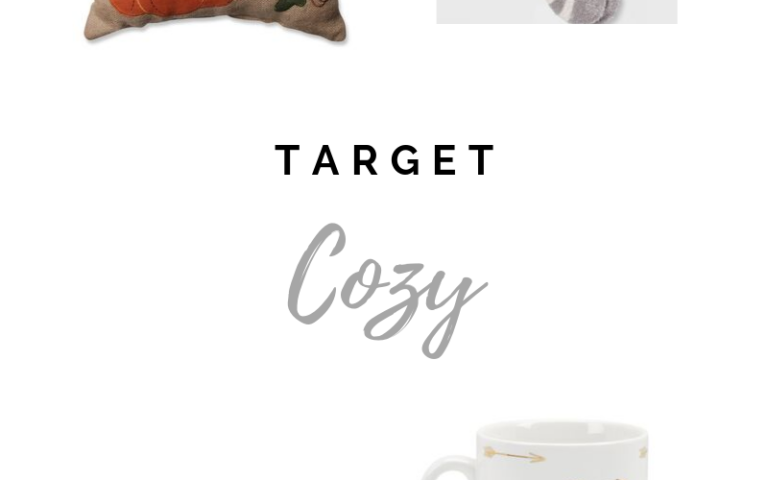 Get Comfy with these Target finds