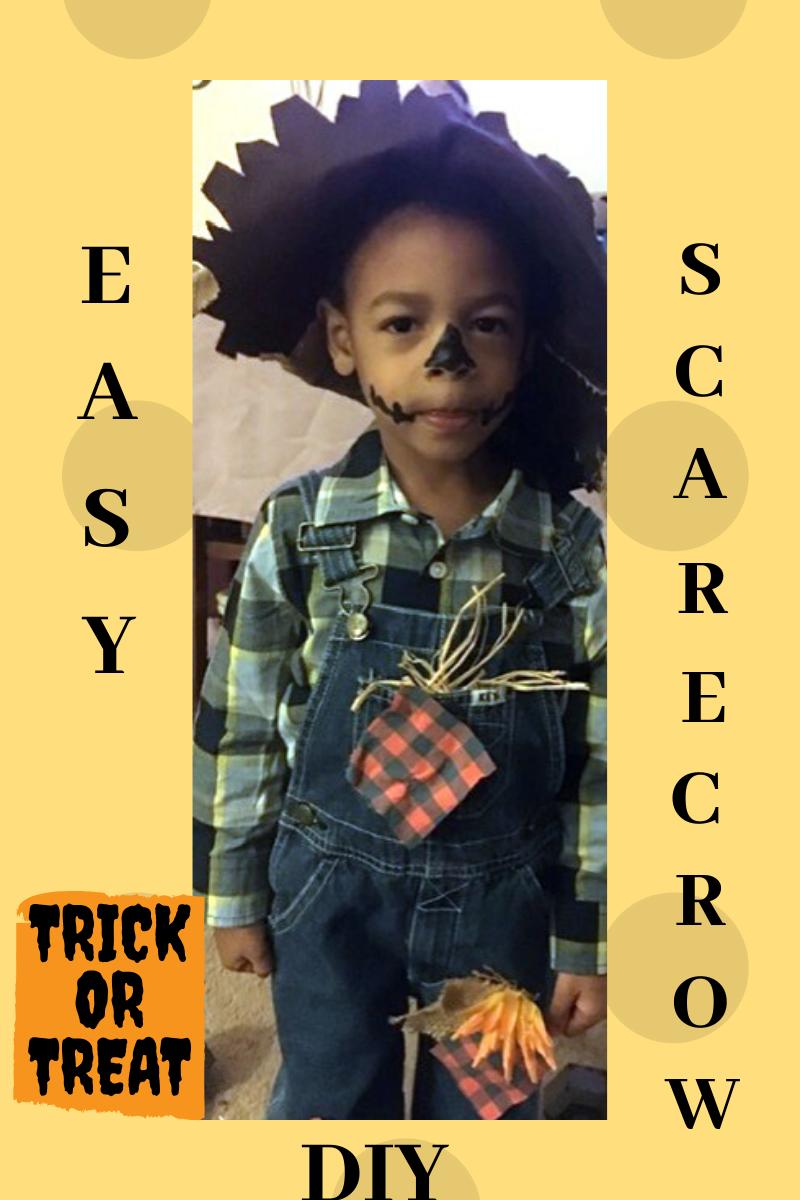 Easy DIY Scarecrow