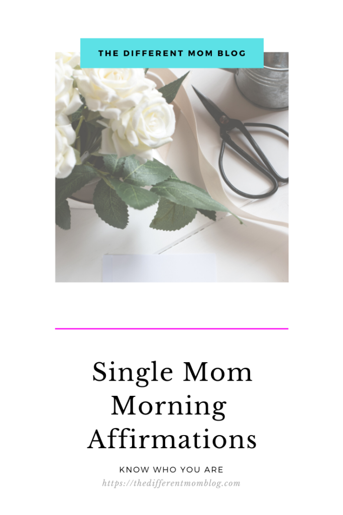 So I've come up with a few single mom morning affirmations to get you going, and to help build your confidence in who God designed you to be.