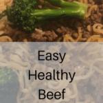 Ground Beef Ramen
